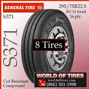 General Commercial Truck Tires 16ply Tires S371 22 5lp Tires