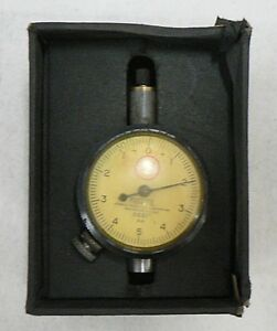 Old Vintage Federal Dial Indicator In Original Box