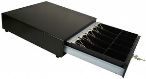 Square Compatible Cash Drawer All Black new
