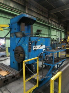 Wmw Union 5 11 Floor Type Horizontal Boring Mill 1980 3 axis Dro