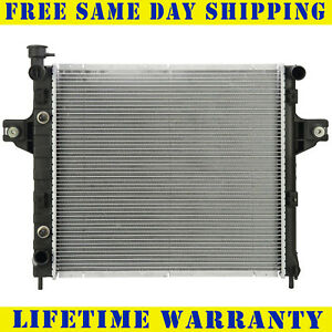 Radiator For 1999 2004 Jeep Grand Cherokee 4 0l Lifetime Warranty Free Shipping