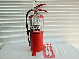 Fire Extinguisher 10lb Abc Dry Chemical nice