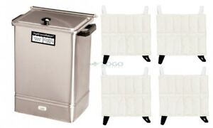 Chattanooga Hydrocollator E 1 Heating Unit With 4 Hot Pacs