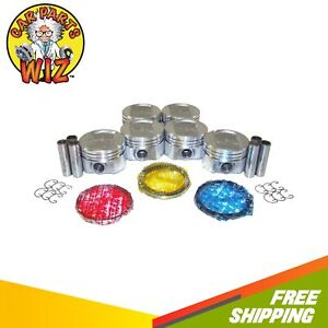 Pistons And Rings Fits 89 95 Ford Cougar Xr 7 3 8l V6 Ohv 12v Supercharged