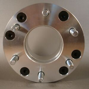 2 Wheel Spacers Adapters 5x4 75 To 6x5 5 2 Thick 5 Lug To 6 Lug