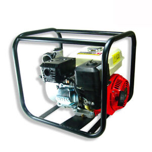 6 5 Hp Gas Water Semi Trash Pump 3 Inlet Outlet Marine Gasolin
