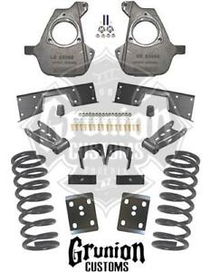 Mcgaughys Chevy Silverado 5 7 Lowering Kit 2001 2007 Crew Cab 16 Wheels 93026