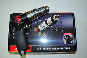 Chicago Pneumatic 1 4 Inch Drive Mini Air Drill Reversible Drill Tool Cpt7300r