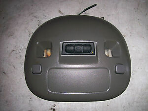 2000 2005 Cadillac Deville Factory Over Head Console Map Lights Homelink Gray
