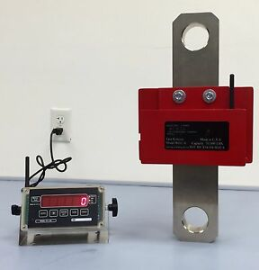 Wireless Industrial Crane Scale Hanging Scale Made In The Usa 50 000 Lbs