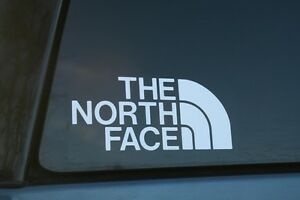 The North Face Die cut Car Window Sticker Buy 2 Get 1 Free