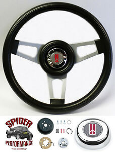 1964 1966 Cutlass 442 F85 Steering Wheel Olds 13 3 4 Silver Spoke