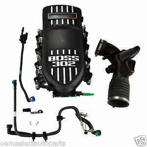 Oem New Ford Racing Boss Mustang 302 Intake W Install Kit M9424m50br M9444m50b