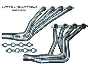Speed Engineering Ls1 98 02 Camaro Firebird 1 7 8 Longtube Headers F Body