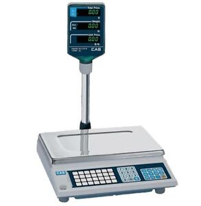 60 Lb X 0 02 Lb Price Computing Scale Ntep Deli Coffee Candy Bakery Cas
