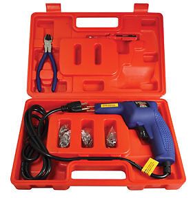 New Astro Pneumatic Hot Stapler Gun Staples Kit For Plastic Repair 7600