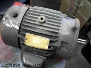 Ac Electric Motor 460 3 60 3 Hp 3510 Rpm 182tc Fr Tefc Encl