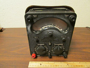 Avo Meter Rev M c Model 8 Mark 1 Bakelite Case