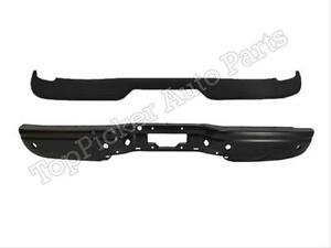 For 2000 2005 Excursion Rear Bumper Bar Black Upper Top Pad With Sensor Hole