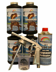 T Rex Black Spray On Truck Bed Liner Smr 1000 K4 Truck Bedliner W Free Gun
