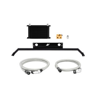 Mishimoto Thermostatic Oil Cooler Kit For Ford Mustang 5 0l 2011 2014 Black