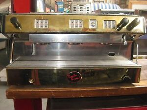 3 Group Brasilia Espresso Machine Gold