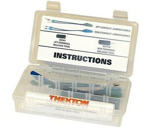 Thexton Professional Bosch Jumper Wire Test Kit W Terminal Release Tools 512