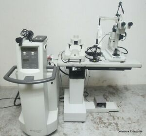 Coherent Novus Omni Opthalmic Photocoagulation Laser System With Slit Lamp