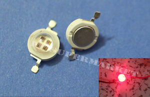 10pcs 5w 5watt Red 660nm High Power Led For Plant Grow Light Lamp