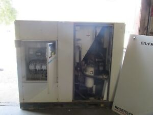 Ingersol Rand Sierra l75 Oilless Oil less Air Compressor