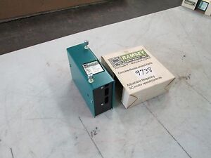 Ramsey Adjustable Frequency Ac Motor Speed Control Mod bn027 Voltage Input Nib