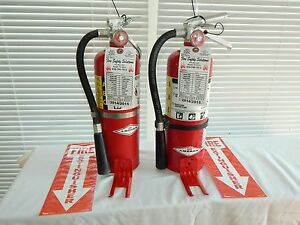 Fire Extinguisher 5lb Abc Dry Chemical Lot Of 3 nice