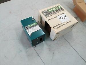 Ramsey Adjustable Frequency Ac Motor Speed Control Mod bn117 Chopper nib