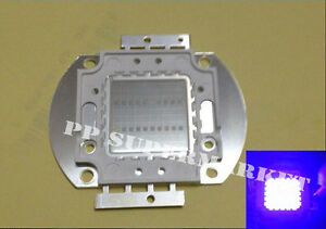 20w Ultraviolet Uv 365 375nm Led Chip Lamp Sterilization Uv curable