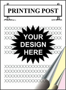 250 3 part Ncr Forms 8 X 11 Your Design Printing