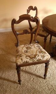 Antique English Dining Chairs 7