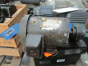 Ac Electric Motor 1hp 1750 Rpm 208 230 460 V 3 60 143tc Tefc Encl