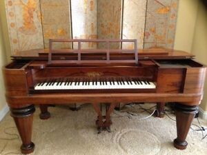Antique Chickering Rosewood Piano