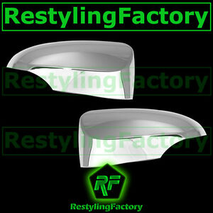 2012 2014 Toyota Camry Triple Chrome Plated Mirror With Turn Signal Cover Trim