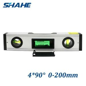 8 Digital Angle Finder Meter Laser Spirit Level Inclinometer Protractor