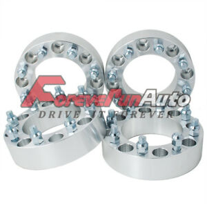 4pc 2 8x6 5 Wheel Spacers Adapters 14x1 5 Studs For Chevy C2500 3500 Gmc Trucks