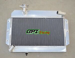 56mm For Aluminum Radiator Rover Mg Mga 1500 1600 1622 De Luxe 1955 1962