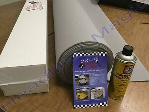 Lt Gray With Adhesive Honda Civic With Sunroof Auto Headliner Foam Back Material