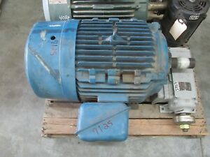 Ac Electric Motor 60 Hp 1800 Rpm 230 460 Volt 3ph 364 5t Fr Tefc Encl