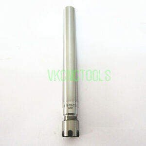 Straight Shank Collet Chuck Er8 mini Nut 10mmshk 100mm Length for Er8 Collet