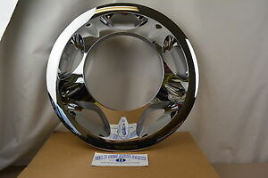 2008 2010 Chevrolet Gmc Dually 3500 Chrome Front Wheel Cover New Oe 22769470