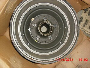 1969 Galaxie Factory Ford Nos Front Hub Drum Assy