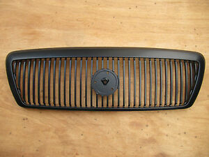 Painted Black Grille For Mercury Grand Marquis Marauder 2003 2005 Fo1200409