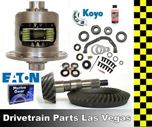 Eaton Gm 8 875 12 Bolt Truck Posi Prem Ring And Pinion 3 08 Mst Install Kit