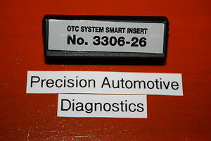 Otc 3306 26 Smart Insert Ford Ubp 1 Genisys Determinator Scanner Cable System